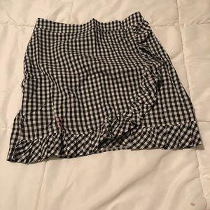 ASOS Skirts - ASOS Gingham ruffle skirt